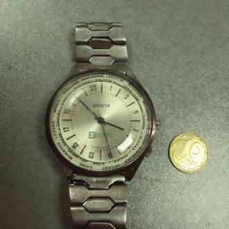 часы наручные циферблат механизм ракета zestril №114