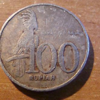 Индонезия 100 рупий 2002