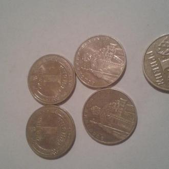 1 гривна 2012 года 4штуки