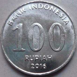 Индонезия 100 рупий 2016 состояние