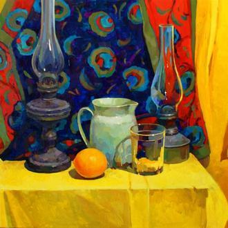 Натюрморт с лимоном 1