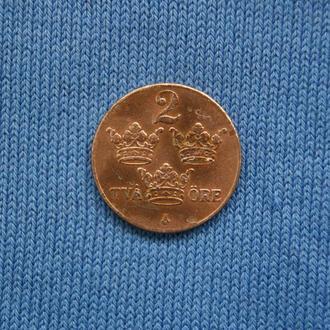 Швеция 2 оре эре  1939 г