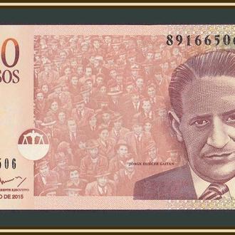 Колумбия 1000 песо 2015 P-456 (456t) UNC