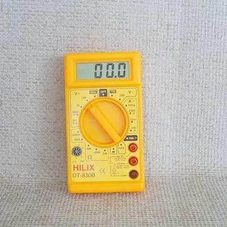 №422 Тестер Мультиметр Hilix DT-830B с проводами Германия рабочий
