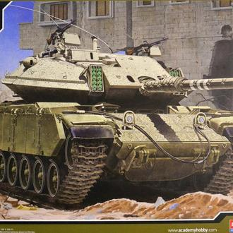 Сборная модель танка Magach 6B Gal Batash 1:35 Academy 13281