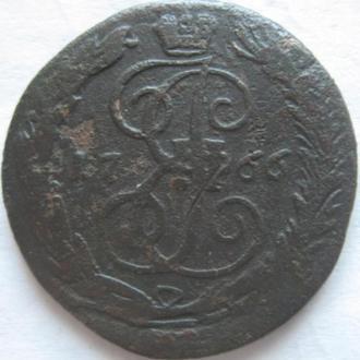 Денга 1766г.