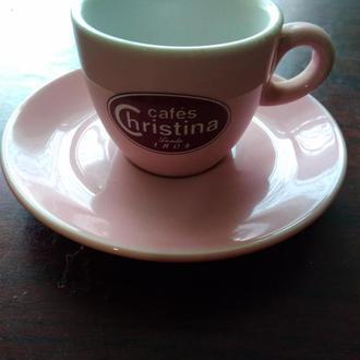 28..CHRISTINA..Чашка +блюдечко ..колекційні
