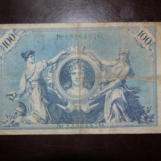 Германия 100 1908