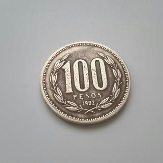 Чили. 100 песо 1992 год.