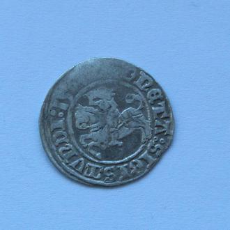 полугрош 1507 г Сигизмунд I Старый,  Литва, Вильно (C17)