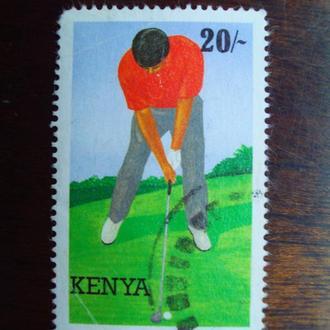 Кения.1995г. Спорт. Гольф.
