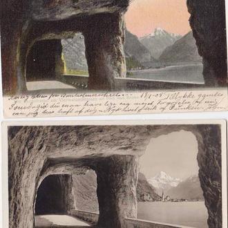 Архитектура .  Швейцария 1905 и 1910 гг - 2е ПК - 2а скана