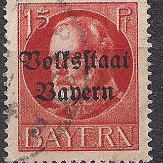 Бавария, немецкие земли, 1919-20 гг., акция!!!, 20% каталога, стандарт, король Людвиг 3