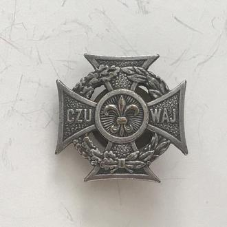 Знак Скауты Крест пионеров харцеров Польша