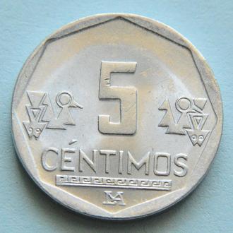 (А) Перу 5 сентимо, 2013
