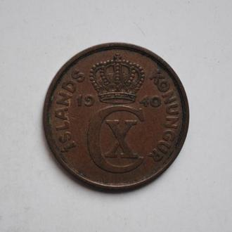 Исландия 5 эйре 1940 г., СОСТОЯНИЕ