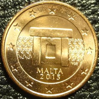 5 євроцентів 2015 Мальта UNC