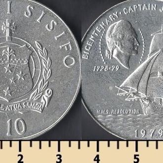 САМОА 10 ТАЛА 1979