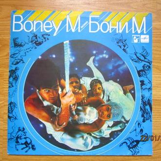 LP BONEY M   Nightflight To Venus  Бони М   Ночной полет на Венеру Nm Мелодия