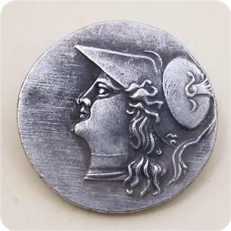 Древнегреческая монета .