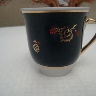 Чайная ЧАШКА Кобальт Позолота Фарфор СССР Довбыш Знак качества №872