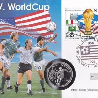Ниуэ остров 5 долларов 1991