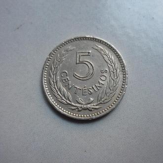 Уругвай 5 сентесимо 1953