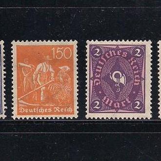 Рейх*, 1921-22 гг., стандартный выпуск