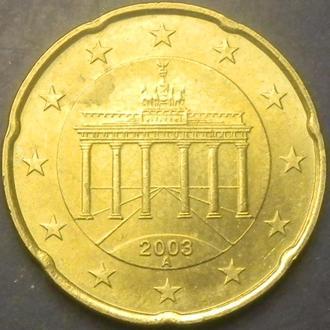 20 євроцентів 2003 A Німеччина