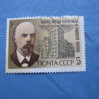 СССР 1985 Музей Ленина в Тампере