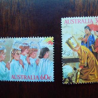Австралия.1986г. Рождество.