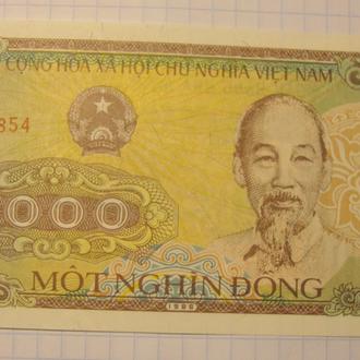 Вьетнам 1000 донг - 1988