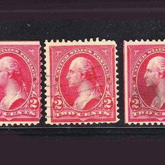 USA / США  --   1894 г - разновидности -б/з сторона