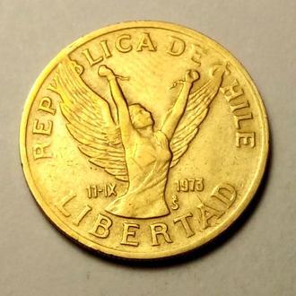 10 песо 1989 года Чили !!! а2