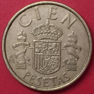 100 песет 1986 год Испания