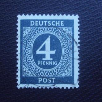 Германия.Сов.зона 1946 гаш.