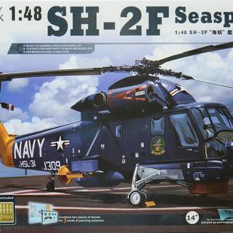 Сборная модель вертолета Seasprite SH-2F 1:48 Kitty Hawk 80122