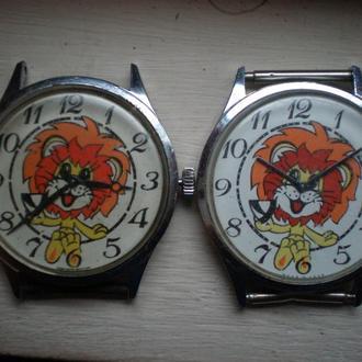 часы Чайка Львенок 2 шт 2104