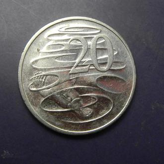 20 центів 2008 Австралія