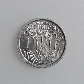 "Реюньон 1 франк 1948 г., BU, ""Заморский департамент Франции (1945 - 1973)"""