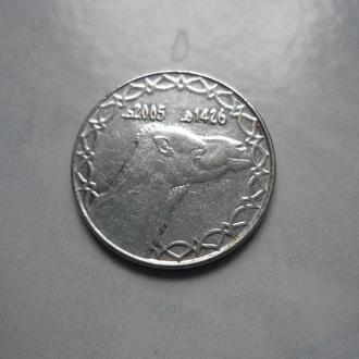 Алжир 2 динара 2005 фауна