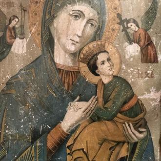 старовинна икона ікона Богородиця Діва Марія (№222)