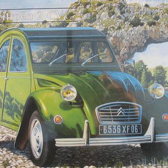 Сборная модель автомобиля Citroen 2CV 1:25 Heller 80765