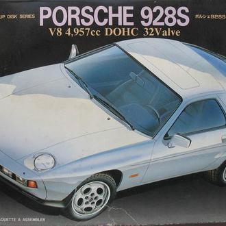 Раритет - Сборная модель автомобиля Porsche 928 S V8 1:25 Fujimi