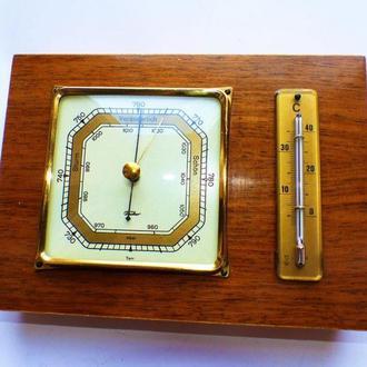 Барометр, термометр,- Германия 1960-х гг - fischer