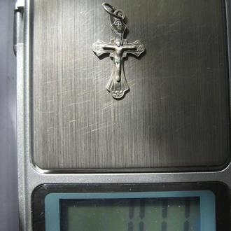 Крест - серебро 925, 0,71г