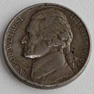 США 25 центов 1987г. D