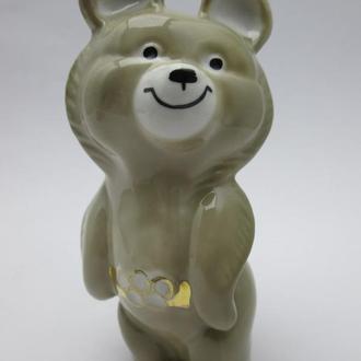 Статуэтка  Мишка олимпийский фарфор