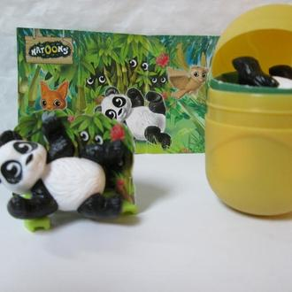 Животные, Панда + вкладыш, серия Натунс (Natoons)