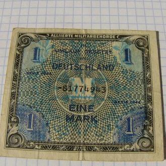 1 марка, Германия 1944 год, Американская оккупация